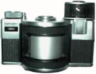 Horizont -- Special camera capable of taking 120 degree photographs without distortion.